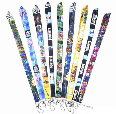 FORTNITE Battle Royale Themed Neck Strap Lanyard - Multiple Styles - UK Stock