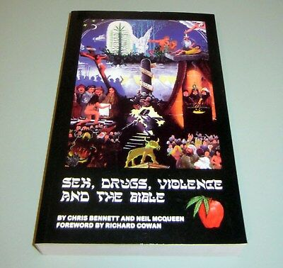 Signed by CHRIS BENNETT CANNABIS SEX DRUGS BIBLE VIOLENCE PSYCHEDELIC Marijuana