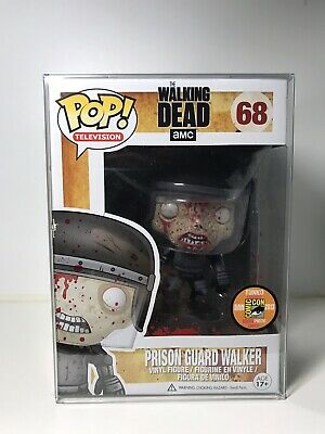 Funko Pop! TV #68 BLOODY PRISON GUARD WALKER Walking Dead 2013 SDCC 1/1008