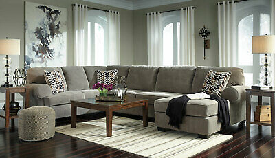 Excellent Merida Large Gray Microfiber Living Room Set 5Pcs Sofa Couch Pdpeps Interior Chair Design Pdpepsorg