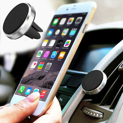 *NEW* In Car Magnetic Phone Holder Fits Air Vent Universal Mount Various Colours