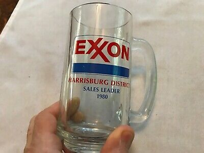 1980 Exxon Gasoline Harrisburg District Sales Leader Mug, Pennsylvania