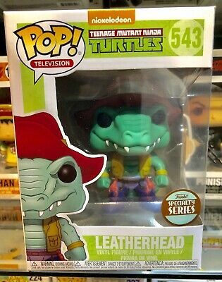 Funko Pop LeatherHead mint Nib !!! Ninja Turtles Tmnt Exclusive