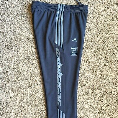 ADIDAS YEEZY CALABASAS Track Pants Ink Wolves Gray Size S Small Kanye West