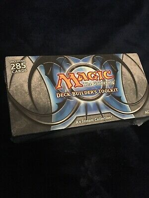 Deck Builder's Toolkit 2011 (ENGLISH) FACTORY SEALED BRAND NEW MAGIC