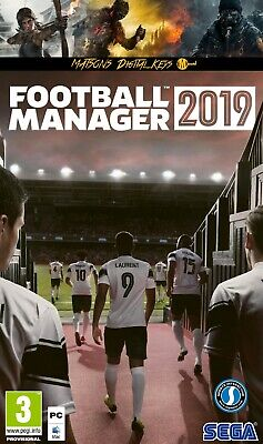 Football Manager 2019 CD Key - Steam - Digital Download - FM 19 - PC Game - EU