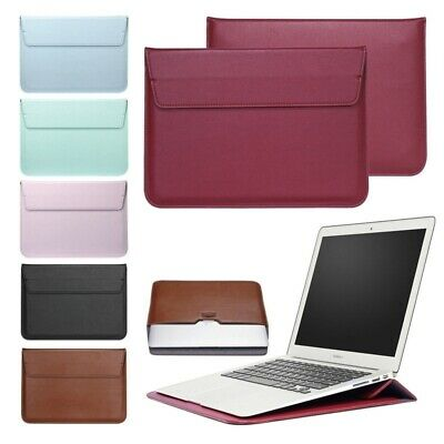 "PU Leather Envelop Laptop Sleeve Carry Bag Case For Macbook Air Pro 11""12""13""15"""