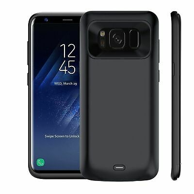 For Samsung Galaxy S8/S8 Plus 8500mAh Battery Charger Case Backup Power Pack