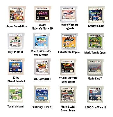 Used Nintendo® 3DS Games Demo Not for Resale Cartridge Only - Fun Pick & Choose