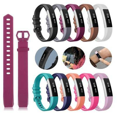 For Fitbit Alta HR Band Secure Strap Wristband Buckle Bracelet Fitness HOT SALE