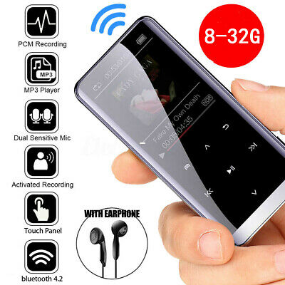 32GB bluetooth MP3 Player HIFI Sport Music Speakers MP4 Media FM Radio Recorder
