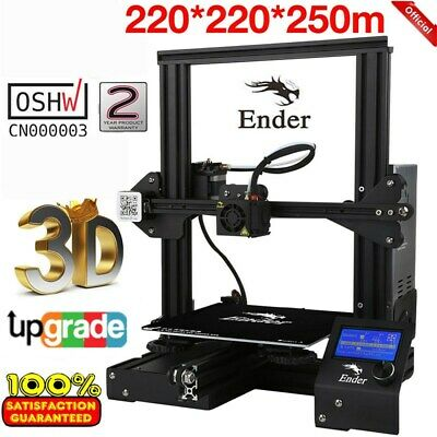 Creality 3D Ender 3 Upgraded Version 3D Printer 180mm/s 220x220x250mm Printing