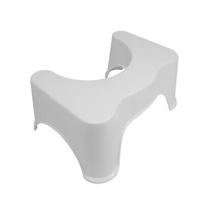 White Toilet Stepping Step Stool Plastic Non Slip Platform Kids Child Toddler