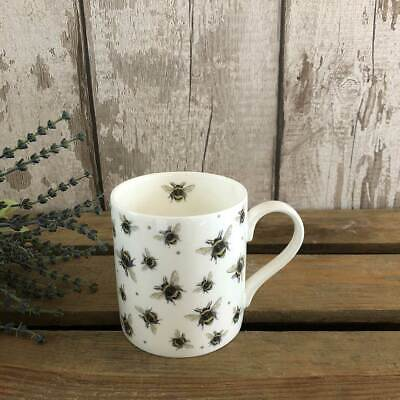 Bee Mug | Fine Bone China | Bumble Bees | Artist Image | UK Made | Small Batches