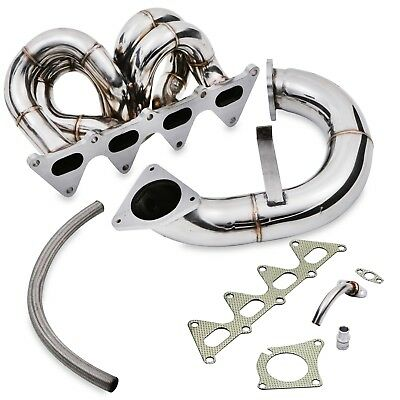 Stainless Exhaust Manifold & De Cat Decat Downpipe For Renault Megane 225 250 Rs