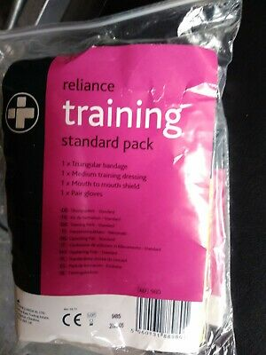 First aid training equipment reliance medical training standard pack x 60