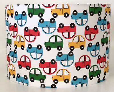 Transport, Cars Large Fabric Light Shade