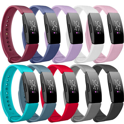 For Fitbit Inspire HR Smart Bracelet Replacement Silicone Wrist Strap Watch Band