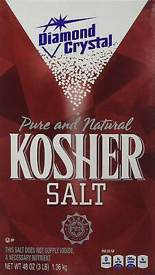 Diamond Crystal Pure & Natural Kosher Salt 1.36kg