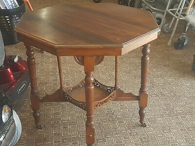 Trapnell and Gain Antique Victorian Occasional Table Bristol