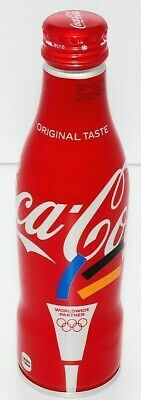 Japan coca cola olympic Tokyo limited 250ml full bottle aluminum from Japan