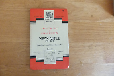 Ordnance Survey Map-One-Inch Of Great Britain-7Th Series-Paper Editions-Sheet 78