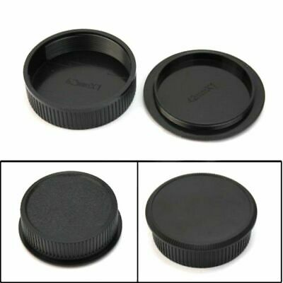 2x 42mm Plastic Front Rear Cap Cover For M42 Digital Body Lens Camera and S T6N1