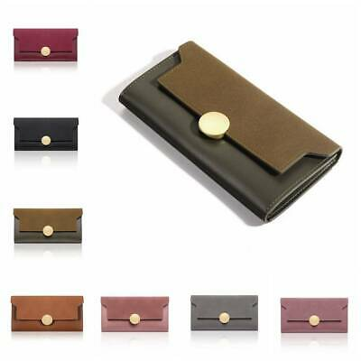 Lady Women Clutch Leather Wallet Long Card Holder Phone Bag Case Purse Handbag