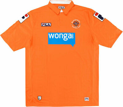 Fila Blackpool Home Shirt Small Junior Age 9-10 Years Old NEW