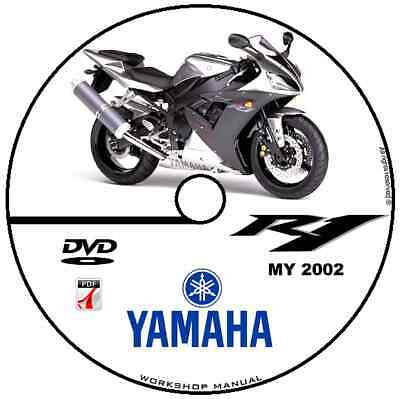 WORKSHOP MANUAL MANUALE Officina Yamaha Yzf R1 2002 Service Software