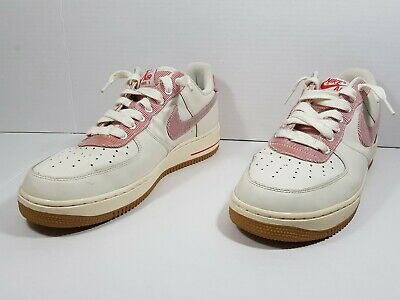 Details about Nike Air Force 1 Shoes size 11.5 Sail University Seersucker 488298 146