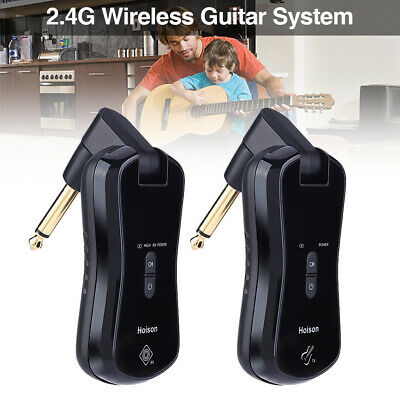 HOISON S8 2.4G Wireless Guitar System 10 Channels for Electric Guitar Violins
