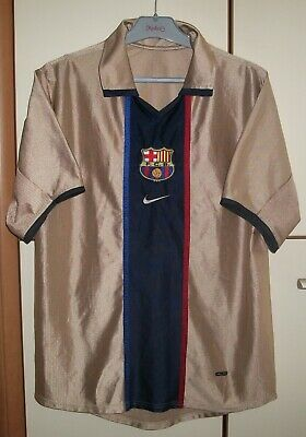 super popular 6a7ca b9016 FC BARCELONA 2001 / 2003 Nike Away Football Jersey Shirt ...