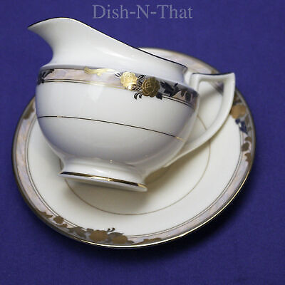 Mikasa LAC79 Prose Fine Ivory - Creamer and Saucer Plate