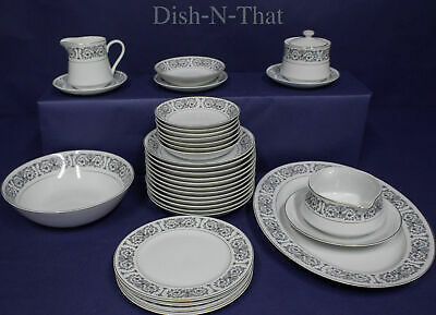 CARLTON Fine China (Japan)FOUNTAIN ~LOT OF 33 pieces ~INCLUDING SERVING PCS