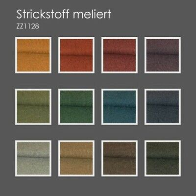 Knitted Fabric Mixed Plain Uni Knitted Jersey Modestoffe Knitted Many Colours