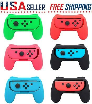 2 Pack Nintendo Switch Joy-Con Controller Comfort Handle Grip Holder Handheld