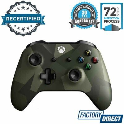 Official Xbox One Wireless Game Controller Armed Forces Special Limited Edition