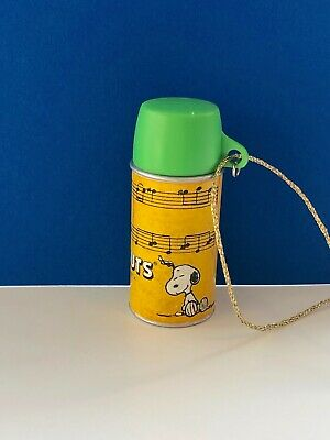 Peanuts Thermos Ornament Hallmark  2000 - Part of Lunch Box Set Ornament Snoopy
