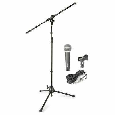 Vonyx Microphone and Mic Stand Starter Pack MS KIT Vocal Mic Boom Kit