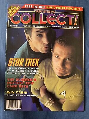 Tuff Stuff's Collect Non-Sport Collector Card Guide August 1994