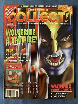 Tuff Stuff's Collect Non-Sport Collector Card Guide May 1995