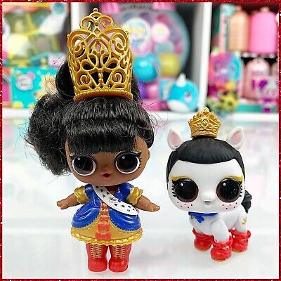 LOL Surprise Hairgoals HER+NEIGH MAJESTY Big Sister Pony Fuzzy Pets Rare Set NEW