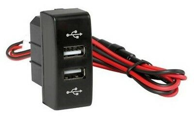 Pour Camion Mercedes Actros MP3 Chargeur USB 12V / 24V Max 3A Sortie Double /