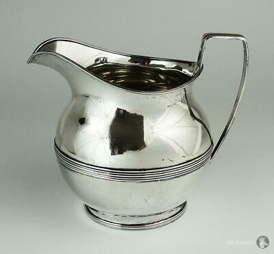Fantastic Large GEORGE III OLD SHEFFIELD PLATE JUG / PITCHER c1800