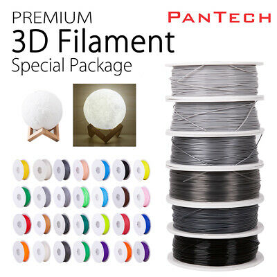 Hot 3D Printer Consumables Filament  ABS PLA 1.75mm 1kg/roll 25 colours