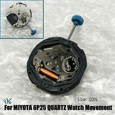 New Original QUARTZ Watch Movement Replacement Parts Accessories for MIYOTA 6P25