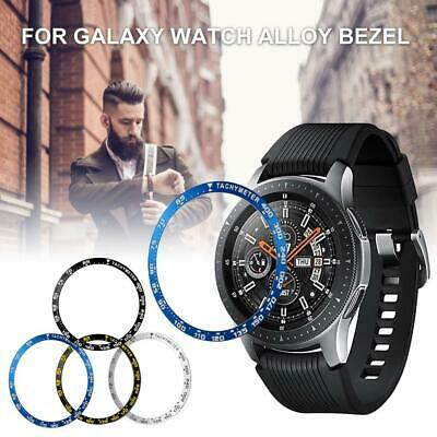 Bezel Ring Adhesive Cover Metal Anti Scratch For Samsung Galaxy Watch 42/46MM
