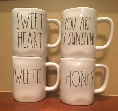 Rae Dunn Mugs Feast Gobble Blessed Stuffed Love You More Thankful Pray Sweetie