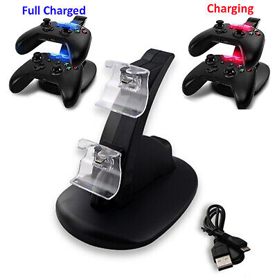 Dock Station Charger for Xbox One / Xbox One S Controller Dual Fast Charging LED